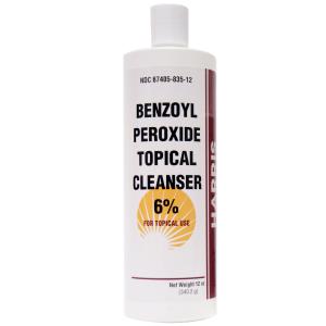 BENZOYL PEROXIDE AC WASH   6%